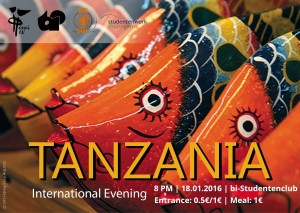 Flyer Tanzanian Night