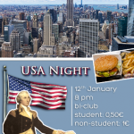 USA Night on 12 January 2015